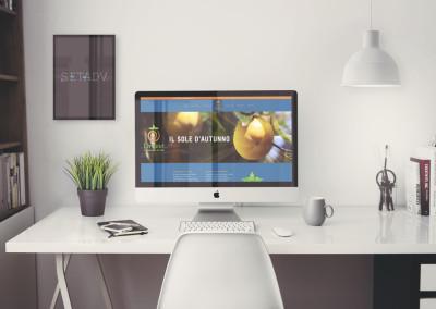 Sito web Divano: Home page