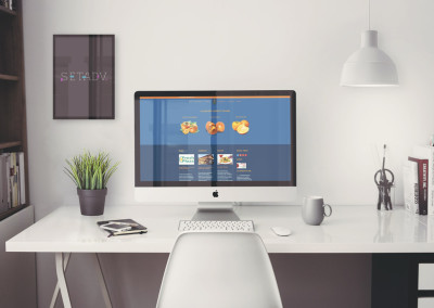Sito web Divano: Home page footer