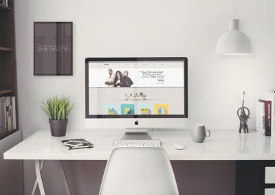 Sito web azienda costruzioni Roma: Home page