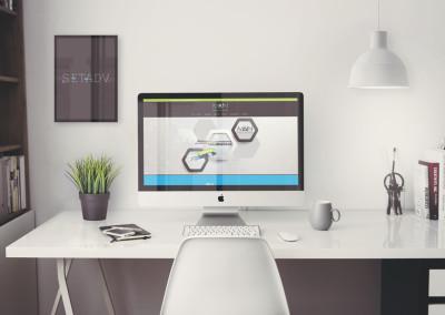 sito web azienda software: Home page