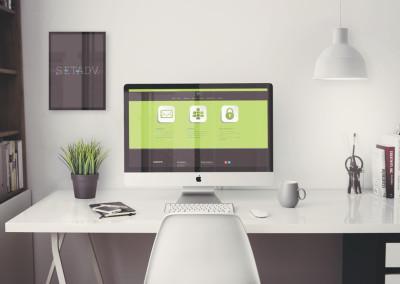 sito web azienda software:  servizi