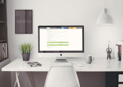 Pagine interne sito web Aera