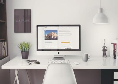 Sito web azienda costruzioni Roma: Pagina iavori